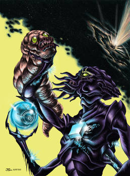 Black Hole Hunters Club #6 Cover - Coloured