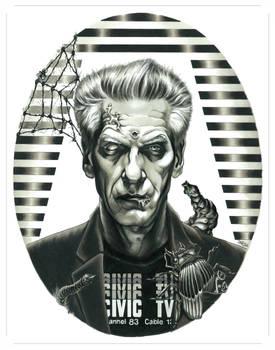 Portrait of David Cronenberg