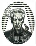 Portrait of David Cronenberg by grendeljd