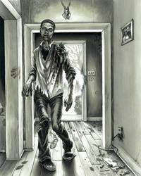 The Walking Dead ~ commission piece by grendeljd