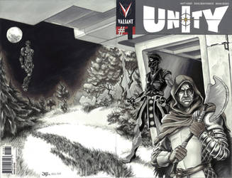 Unity #1 Sketch Cover Commission