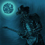 Marco Antonio Blues Abuse CD cover art by grendeljd