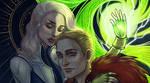 Prewiev for Dragon Age Zine by Rina-Li