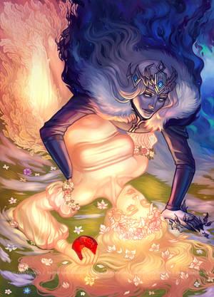Fall of Persephone by Rina-Li