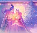 Illustration for Christmas Artbook