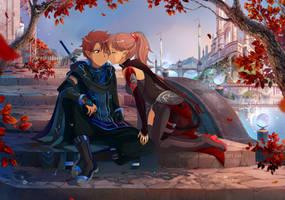 : [ Sunset kiss ] MLP\SAO OC PP Commission: