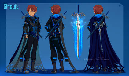 : SAO OC Circuit reference sheet PP Commission :