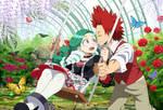 : [ Butterfly Garden ] : BNHA OC :