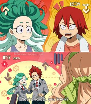 : [ Hairstyles ] Eijyomi BNHA OC :