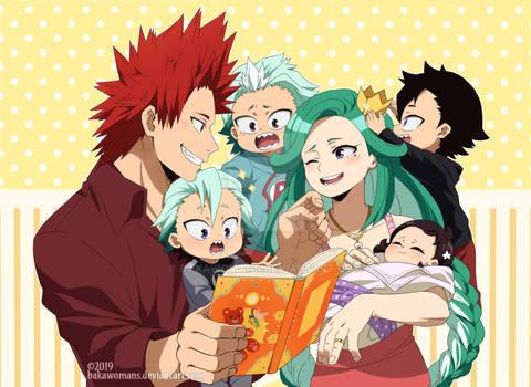 : [ Kirishima family ] BNHA OC :