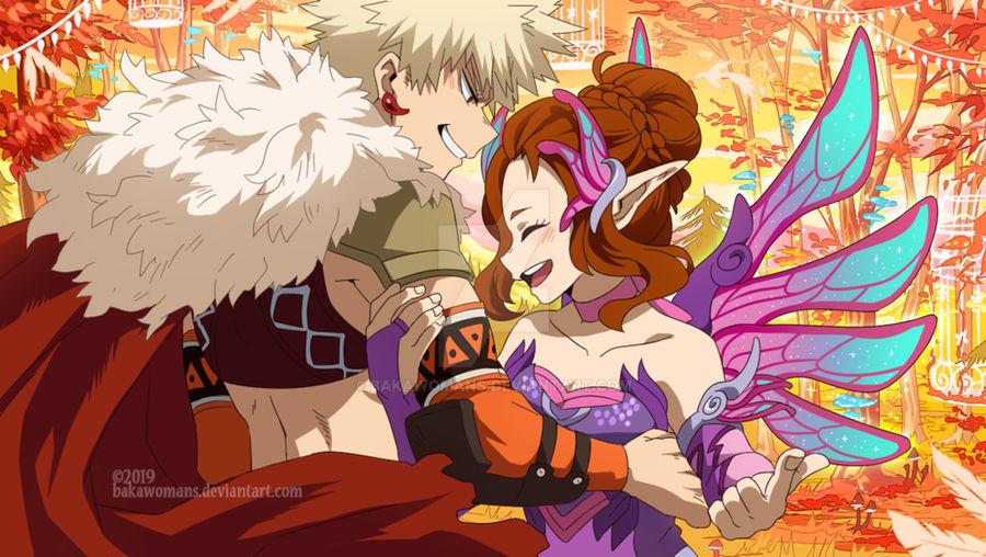 : [ Fairy Festival ] : BNHA OC Comm :