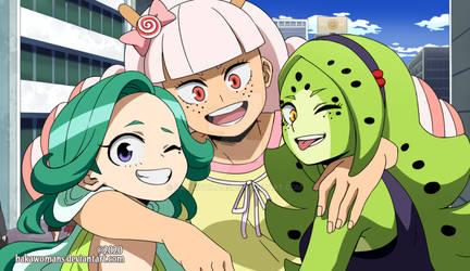 : [ Three friends ] BNHA OC :