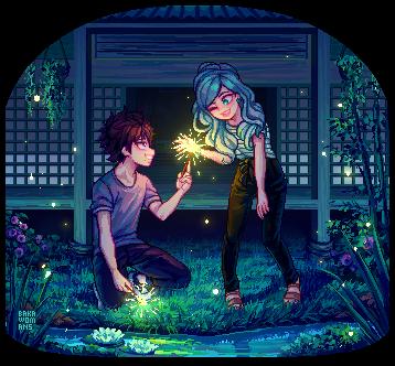 : PixelComm Kokoro x Mei :