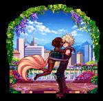 : PixelComm Kanna x Katsuki :