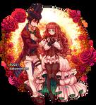 : [ Roses ] Code Realize pixelart :