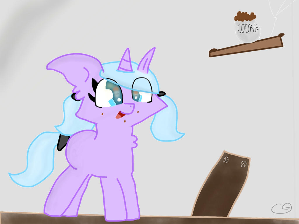 Dat Cookie Stealer as a filly... by CookieGem