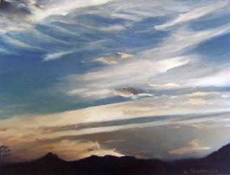 karoo. dusk. backseat by chadlebowski