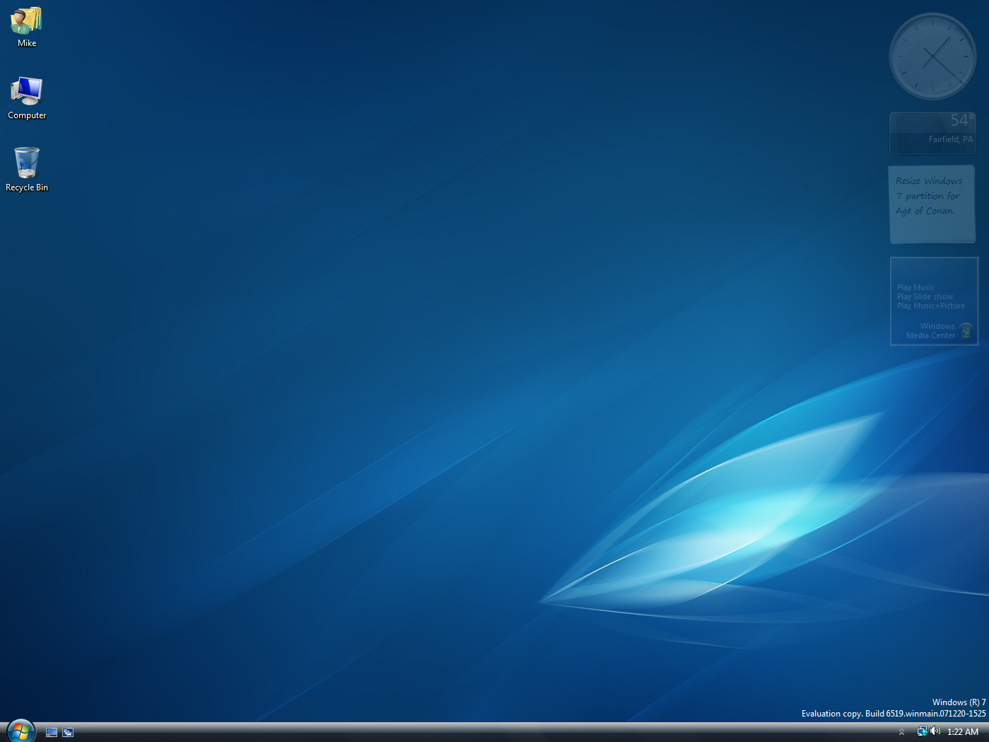Windows 7 6519 by bishop7