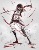 Mikasa by lllannah