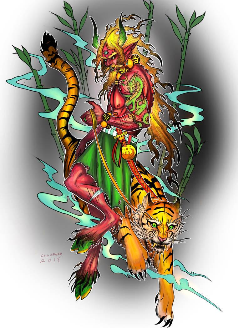 Gilded Dragon by lllannah
