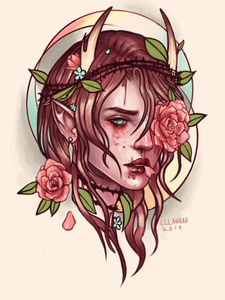 Grief/Growth by lllannah