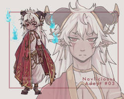 [OPEN AUCTION] Adopt #03 Satyr by Navliciouss