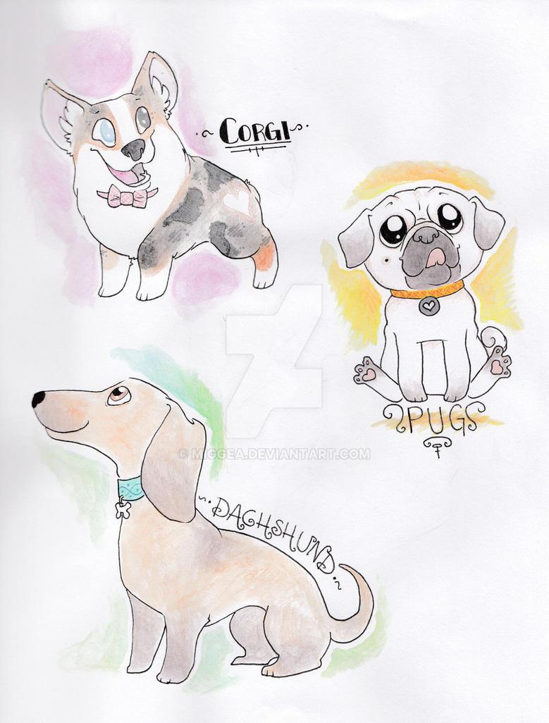 Moar dogs by miggea