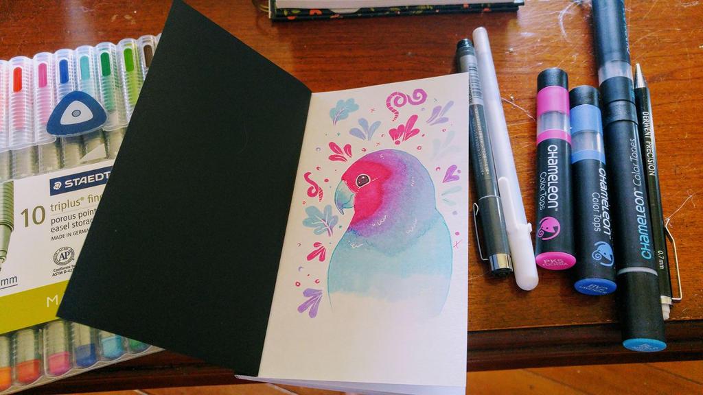 Sketchbox doodle by miggea