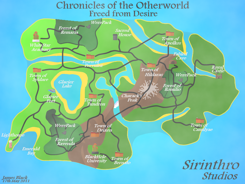 Otherworld Map Overview Label By Dracomaster13 On Deviantart