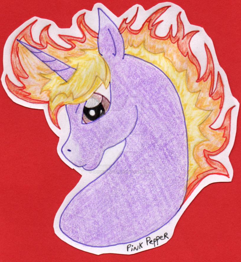 Comet Blaze Bust by 0PinkPepper0