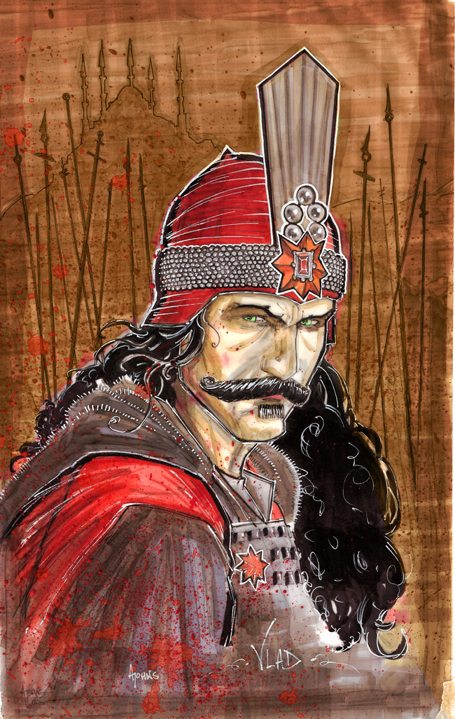Vlad the IMPALER by Alex-Johns