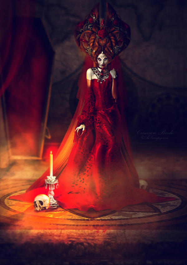 The Crimson Bride by LaVampyress