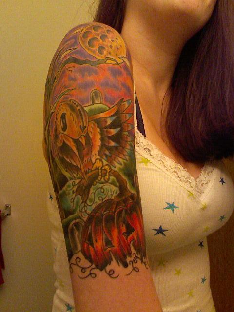 Greg simkins inspired tattoo - sleeve tattoo
