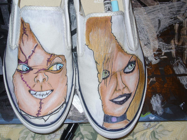 Chucky and Tiff Slip-Ons by GIR510