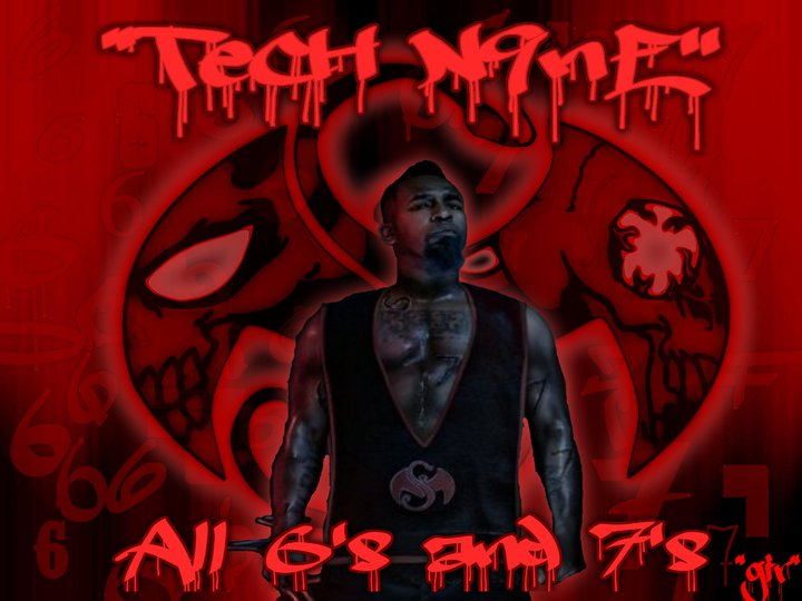 Tech N9ne All 6s And 7s Promo Wallpaper By