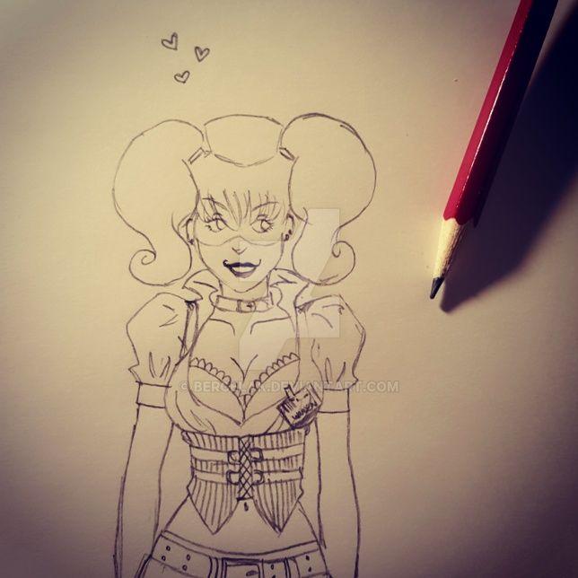 Harley Quinn by Bercelak