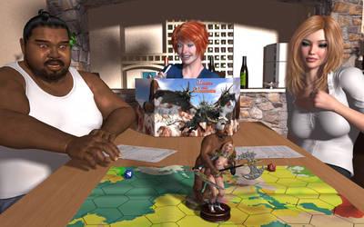 Fantasy Game by TheDarkCowBoy