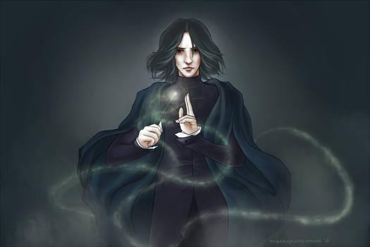HP: Snape (redrawn)