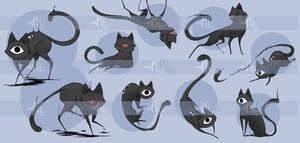 Polter-cats