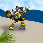 Marine The Raccoon