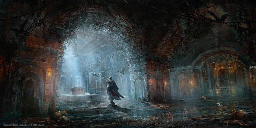 Assassin's Creed Brotherhood: Reward Room by Donglu