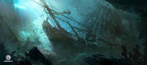 Assassin's Creed IV: Black Flag_Underwater wreck