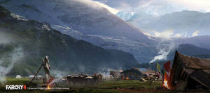 FarCry4 Concept Art - Early landscape exploration