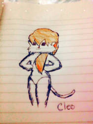 Doodle Cleo by CleoTheCatillacCat