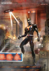 Batman Beyond by Josh-Finney