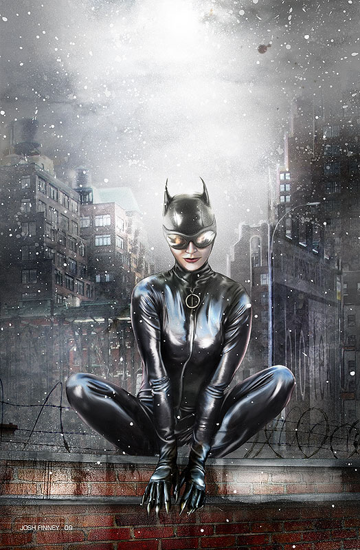 Catwoman by Josh-Finney