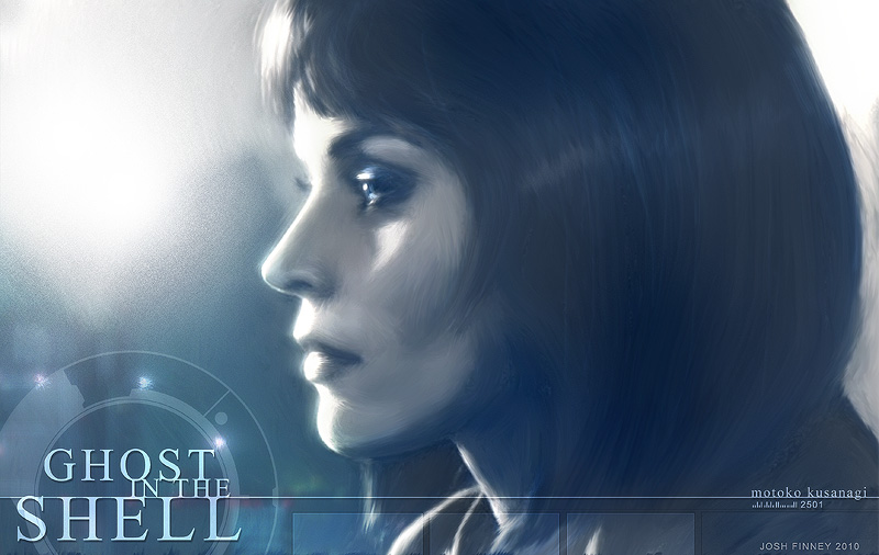 Ghost in the Shell by Josh-Finney