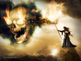 Summoning the gods of METAL by Josh-Finney