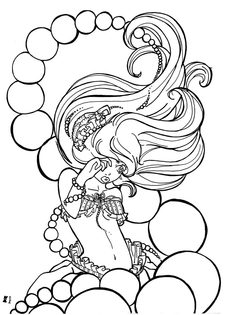 thumbelina 1994 coloring pages - photo#15