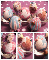 easter egg collection by DaftDollAlice